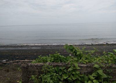 beach front land for sale near lovina ready to build