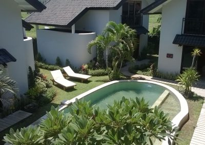 Cosy 3 houses close to Lovina center, ready for rental business in bali 165 000euros