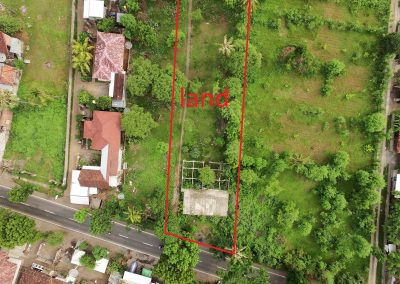 Land for rent in Pemuteran,ready for business