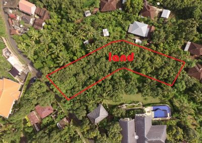 Ocean view for this land up in lovina hills (LISTING:LVP0252)