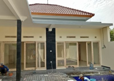 newly finished two villa in pemuteran for sale