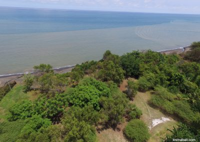 beachfront land 10 min from lovina (LISTING:LVP0132)