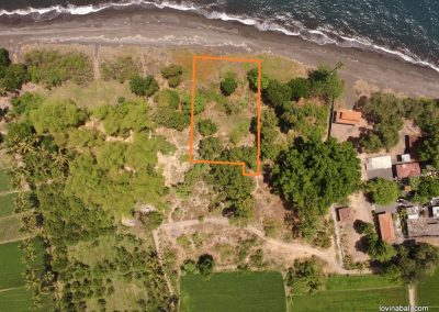 beachfront land 20 minutes east singaraja (plot 2) (LISTING:LVP0172)