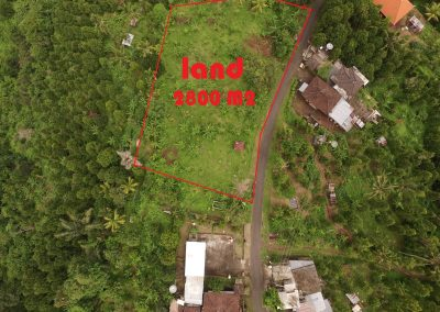 Large plot with ocean views near Lovina (LISTING:LVP0282)
