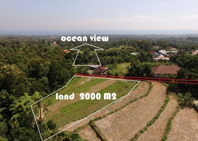 OCEAN VIEW LAND FOR SALE PRIME LOCATION IN LOVINA HILLS (LISTING:LVP0342)