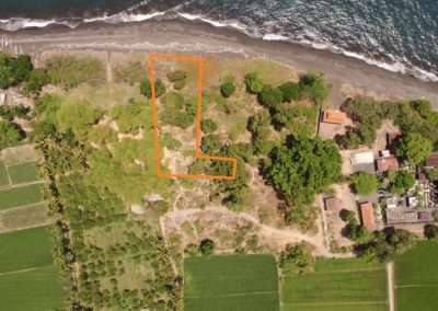 BEACHFRONT LAND PLOT 1 east singaraja 151.775. – euro (Listing ID: 199982)